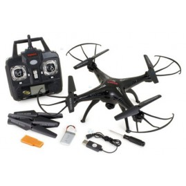 Quadrocopter SYMA X5C ULTRA HD CZARNY E1
