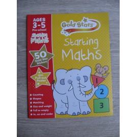 KSIĄŻKA DO ANGIELSKIEGO GOLD STARS MATHS 3-5 LAT