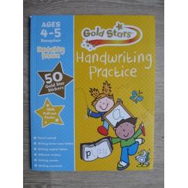 KSIĄŻKA DO ANGIELSKIEGO GOLD STARS HANDWRITING PRACTICE3-5 LAT