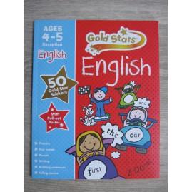 KSIĄŻKA DO ANGIELSKIEGO GOLD STARS ENGLISH 4-5 LAT