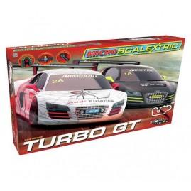 Tor wyścigowy samochodowy Scalextric Turbo GT Audi