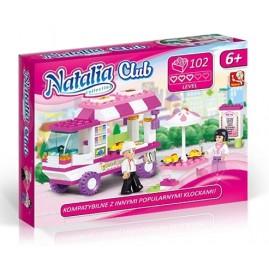NATALIA CLUB KLOCKI 102 ELEMENTY FOOD TRUCK ARTYK