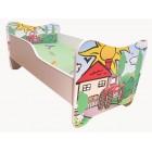 Łóżko dziecięce FARMA TRAKTOR 140x70 materac GRATIS